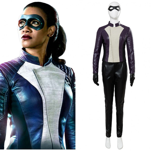 The Flash Iris West Costume Leather Outfits Suit