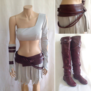 Thor Lady Sif costume Halloween costume with Boots