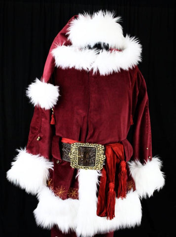 Tim Allen Professional Santa Clause Costume Cosplay Suits for Men