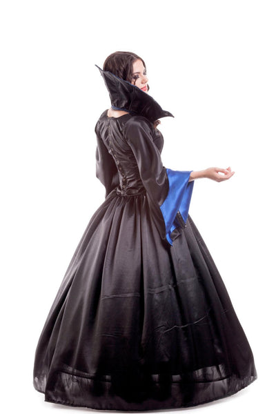 Vampire Queen costume Satin vampire cosplay dress