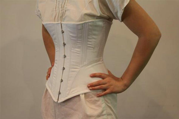 Victorian Corset Cotton Sateen with Coutil Lining