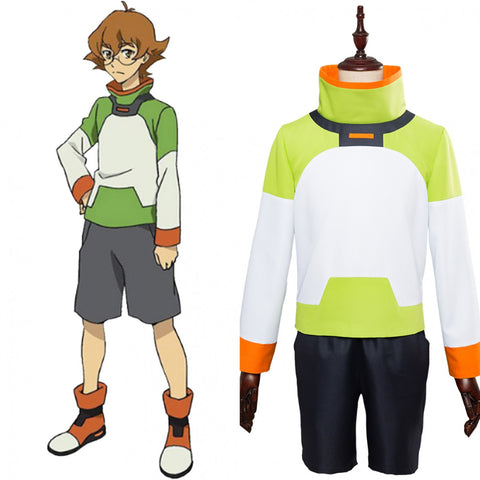 Voltron: Legendary Defender of the Universe Katie Pidge Holt Costume Green Lion Jacket