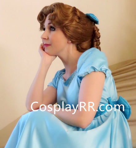 Wendy Darling dress costume for womens plus size