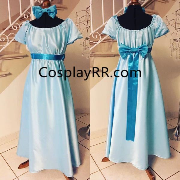 Wendy darling costume for adults plus size