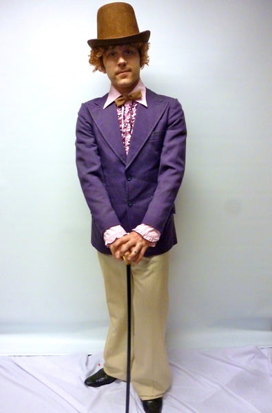 Willy Wonka costume Charlie and the Chocolate Factory cosplay costume