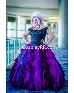 Women's Ursula costume plus size dress