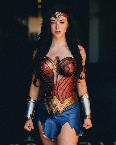 Wonder woman movie costume 2017 plus size for Adults