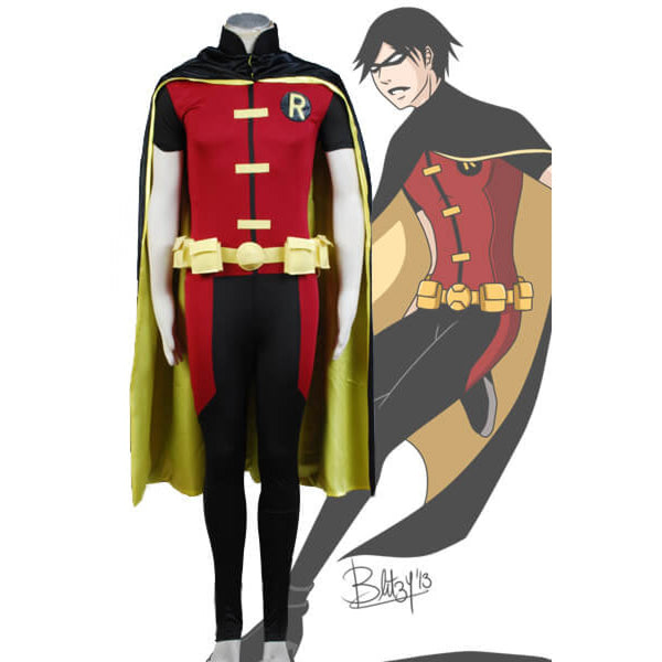 Young Justice Robin Cosplay Costume