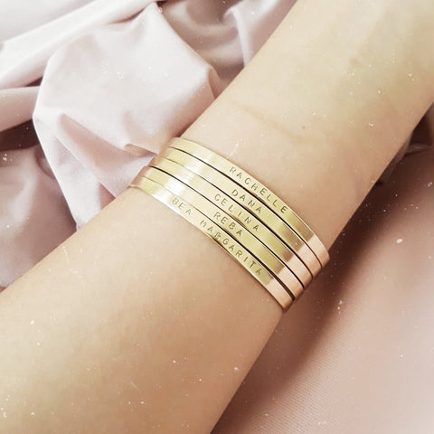 Custom Brass Bangle