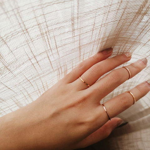 Delicate Thin Ring