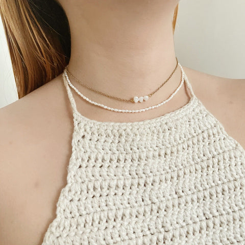 Stara Pearl Necklace