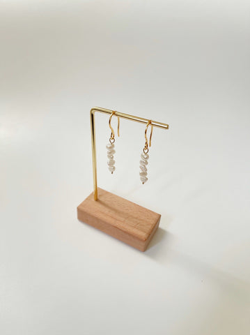 Talia Pearl Hook Earrings