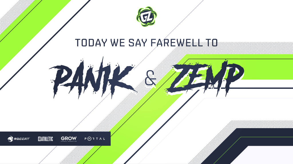 CS:GO Roster Update: Pan1k & Zemp
