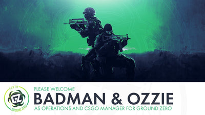 Introducing Badman and Ozzie as Operations Manager and CSGO Manager