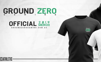 Ground Zero Official 2019 Merch Available for Pre-Order!