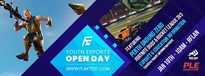 Ground Zero Supporting Youth Esports Open Day