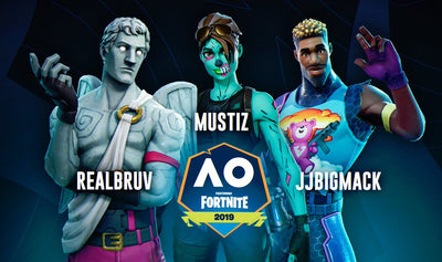 Ground Zero Fortnite competes at Australian Open