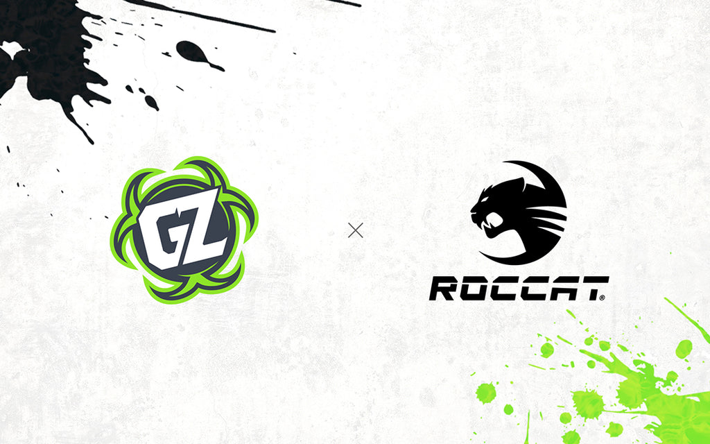 Ground Zero Gaming sign ROCCAT for 2020