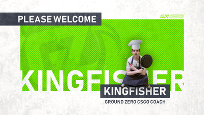 CS:GO Roster Update: Kingfisher