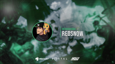 Introducing New Streamer Red Snow