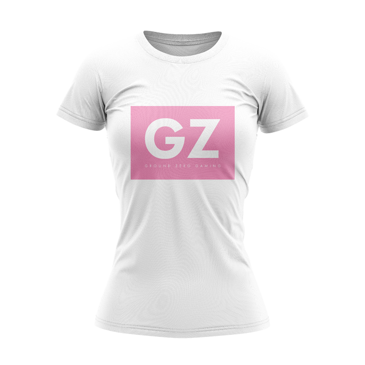 Ground Zero Women's Boxed Tee Pink