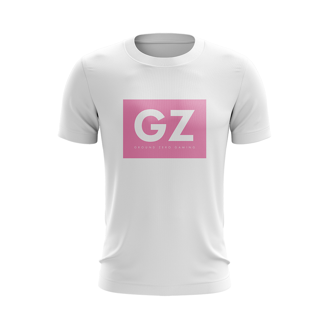 Ground Zero Boxed Tee Pink