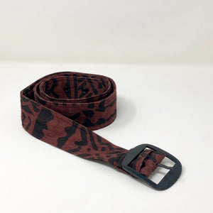 Tribal Print Belt
