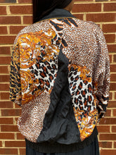 Load image into Gallery viewer, Animal Print Track Jacket