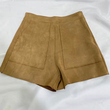 Load image into Gallery viewer, Faux Suede Shorts