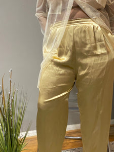 Three Flaggs Satin Pants