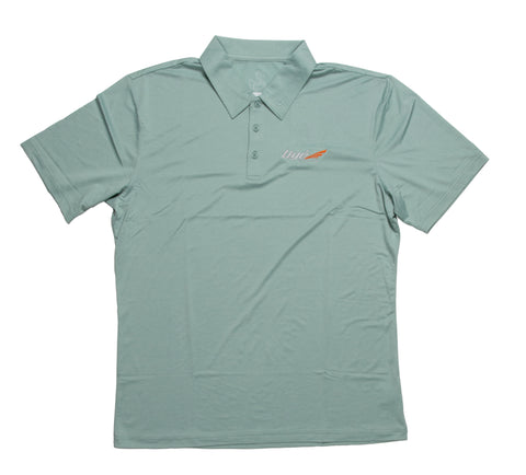 Men's Tige Polo - Light Green Heather