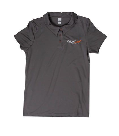 Ladies Tige Polo - Gray