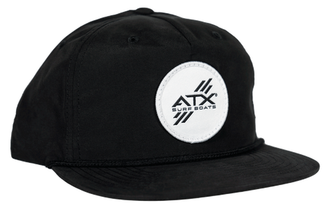 ATX Surf Boats Rope Hat - Black