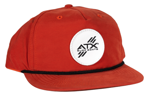 ATX Surf Boats Rope Hat - Rust
