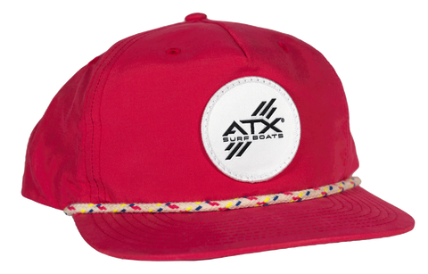 ATX Surf Boats Rope Hat - Pink