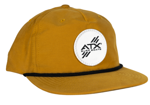 ATX Surf Boats Rope Hat - Biscuit
