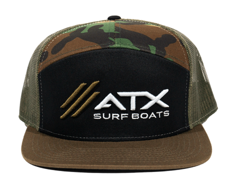 ATX Surf Boats Camo Hat