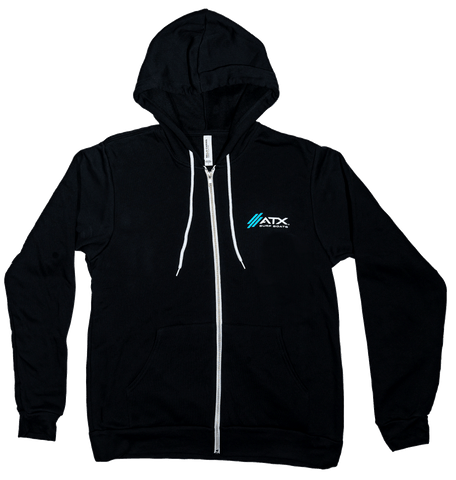 ATX Surf Boats Zip Up Hoodie