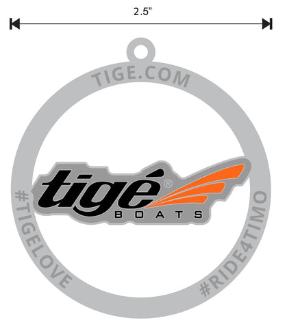 Tige Circled Logo Medallion