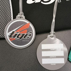 Tige Boats Luggage Tag