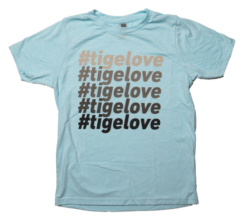 Kids #TigeLove Stack Tee