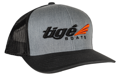 Tige Curved Bill - Gray