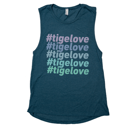 #TigeLove Stack Women's Tank