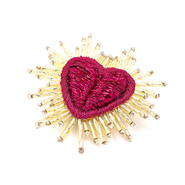 Sparkle Heart Earring
