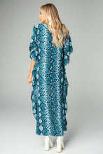 Load image into Gallery viewer, BuddyLove - Derby High-Low Maxi Dress - Blues