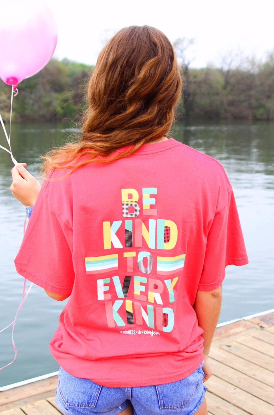 Kindness&Confetti - Be Kind to Every Kind - Deep Coral