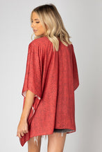 Load image into Gallery viewer, BuddyLove: North Flowy Tunic - Red Python