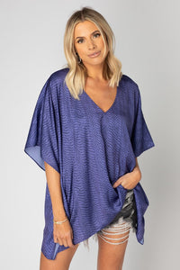 BuddyLove: North Flowy Tunic - Horned Frog