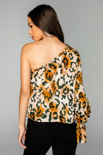 Load image into Gallery viewer, BuddyLove: Siri One Shoulder Top - Lioness