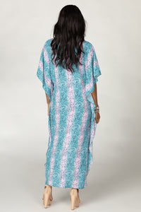 BuddyLove: Derby High-Low Maxi Dress - Clover